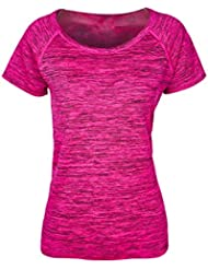 Blooming Jelly femmes manches courtes yoga Yoga Sports T-shirt Tees