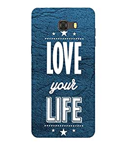 PrintVisa Designer Back Case Cover for Samsung Galaxy A9 Pro (2016)::Samsung A9 Pro Duos (2016) with Dual-SIM Card Slots (Love Defining Quote)