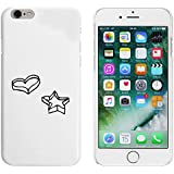 Blanco 'Cortador de Galletas' Funda / Carcasa para iPhone 6 y 6s (MC00021418)