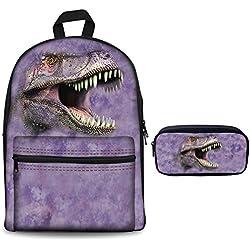 showudesigns Z-CC3498J11 - Mochila infantil Multicolor dinosaurio