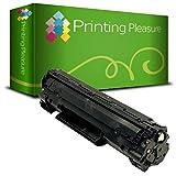 Printing Pleasure Compatible CE278A/78A Laser cartouche de toner pour imprimantes HP Laserjet–Noir