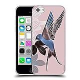 Head Case Designs Offizielle Turnowsky Blauer Vogel Tiere 2 Soft Gel Hülle für iPhone 5c