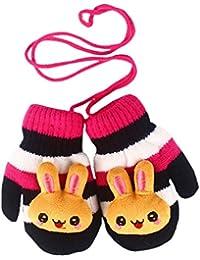 SAMGU Lovely lapin hiver gants chauds Bébés garçons Filles Tout-petits Enfants Mitaines Gants en tricot