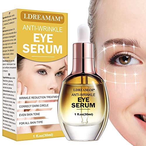Antialterung Augenserum,Augencreme,Augenpartie Serum,Anti-Aging Augenfaltencreme,Aging Serum für das Gesicht,Augencreme Anti-Age Augenkonturgel und abschwellend Tube,reduziert Falten & Augenringe