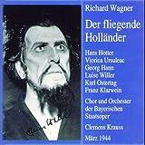 Wagner : Fliegender Holländer 1944. Krauss, Hann, Ursuleac, Hotter, Willer.