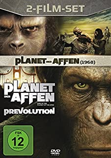 Planet der Affen / Der Planet der Affen: PRevolution [2 DVDs]