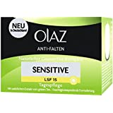 Olaz Anti-Falten Sensitive Tagescreme Tiegel, 50 ml