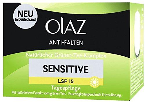 Olaz Anti-Falten Sensitive Tagescreme Tiegel, 50 ml