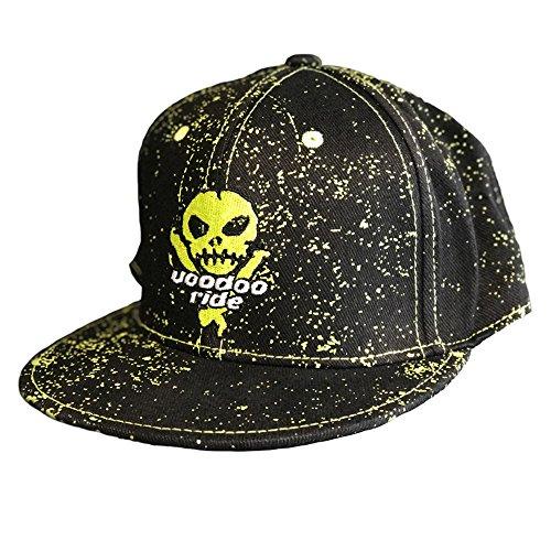 Voodoo Ride VR180324 Cap Hüte mit Logo, Schwarz