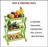 #9: Fortune Excelware Fruit & Vegetable Basket (Multipurpose Rack/Stand) - 3 Step