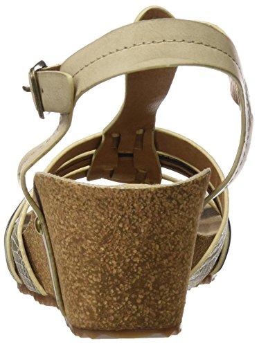 XTI - 046860, Scarpe col tacco Donna Oro