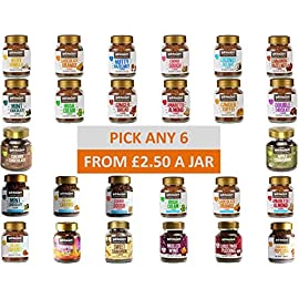 Beanies Flavoured Instant Coffee. Pick Any 6 Jars from 28+ Blends Inc. Very Vanilla, Creamy Caramel, Nutty Hazelnut and Many More