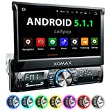XOMAX XM-VRSUA739 Android 5.1 Autoradio con navigatore GPS App + Supporto WiFi + Bluetooth vivavoce...