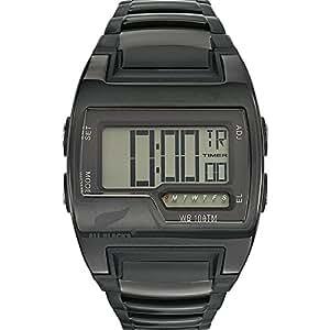 All Blacks - 680108 - Montre Homme - Quartz Digital - Cadran Noir - Bracelet Métal Noir