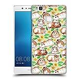 Offizielle Micklyn Le Feuvre Meerschweinchen Und Gänseblümchen Und Aquarell Muster 2 Ruckseite Hülle für Huawei P9 Lite / G9 Lite