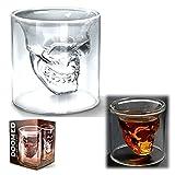 #6: Matchstix'S Doomed Double Wall Crystal Skull Shotglass- 60 Ml