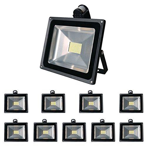 10PCS x80W Haute puissance LED SMD inondation en plein air Lampes Paysage