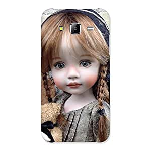 Delighted Girl Angel Multicolor Back Case Cover for Samsung Galaxy J5