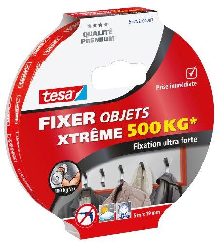 tesa-55792-00007-00-fixer-objets-xtreme-500-kg-5-m-x-19-mm