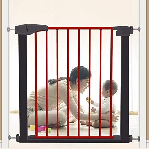 SuRose Schutztüren Extra Breite Baby Tor Druck Montiert Einstellbare Puppy Pet Laufstall Für Treppe Tür Way Weiß Eisen 63-157 cm Breite (größe: 82-89 cm) (Weiß Pet Treppe)