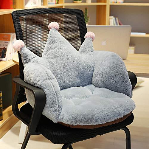 LYCV Rosa Krone Stuhl Kissen bürokissen sitzkissen Schlafzimmer Boden Butt pad rückenlehne integrierte Matte 55 * 40 * 40 cm@EIN