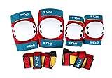 TSG Junior Set - Set de protecciones para niños, multicolor, talla