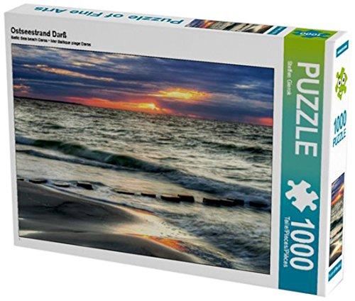Preisvergleich Produktbild Ostseestrand Darß 1000 Teile Puzzle quer (CALVENDO Menschen)