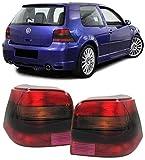 Rot schwarze Rückleuchten GTI