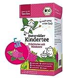 TeeFee Bio Früchtetee mit Himbeere, 5er Pack (5 x 20 Teebeutel) Kindertee | natursüß und vegan