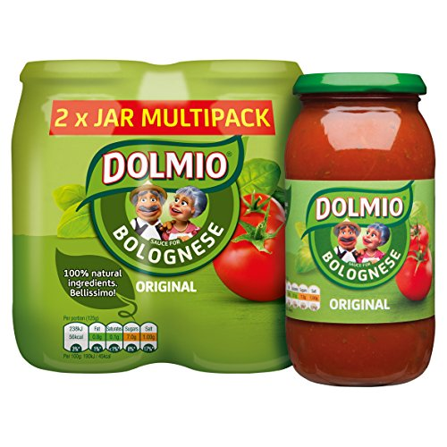 Dolmio Original Bolognese Pasta Sauce, 2 x 500 g