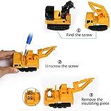 Enlarge toy image: Zauber Inductive Trucks [Follow Black Line] Mini Magic Inductive Car Toys Christmas Gift for Kids & Children