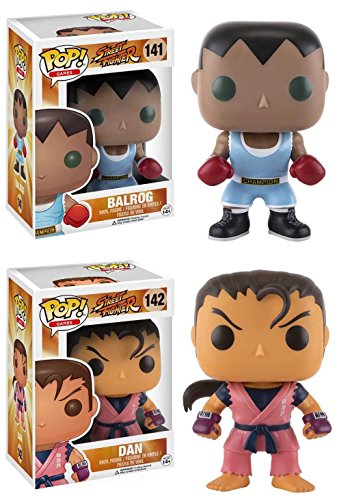 Funko Pop Pack Balrog + Dan (Street Fighter) Funko Pop Street Fighter