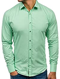 BOLF - Chemise casual - à manches longues – BOLF 1703 - Homme