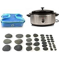 FS International Holistic Supplies Basic basalt Kit mit 6Quart Heizung und Vulsini Cold Stone Tasche–38Stück preisvergleich bei billige-tabletten.eu