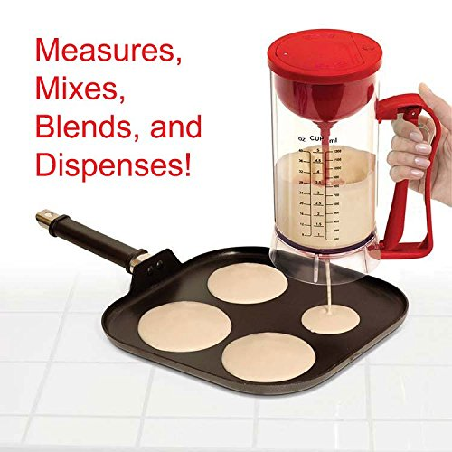 51lNkRBimwL. SS500  - Handy Gourmet Automatic Cordless Electric Pancake Machine