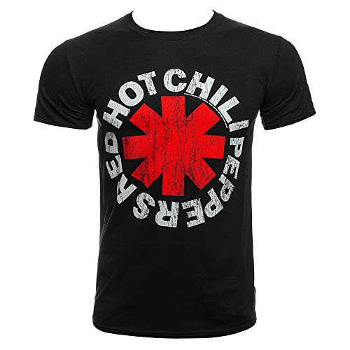 Red Hot Chili Peppers - T-Shirt - Distressed Asterisk -
