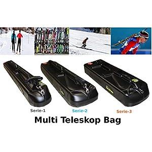 Sportube Teleskop Skitasche Skisack Skicase Skibag Ski Snowboardtasche Dachbox Dachkoffer