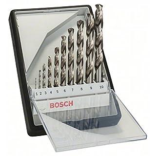 Bosch 2607010535 HSS-G, 135° 10pcs, Silver