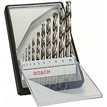 Bosch Pro 10tlg. Metallbohrer-Set HSS-G geschliffen Robust Line