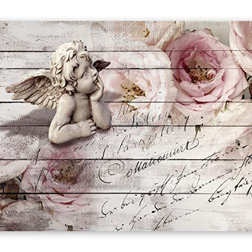 murando - Fototapete 350x256 cm - Vlies Tapete - Moderne Wanddeko - Design Tapete - Wandtapete - Wand Dekoration - Engel Rose f-A-0313-a-a