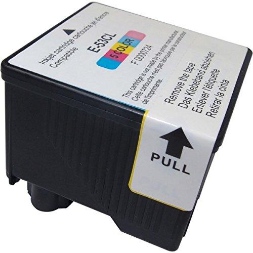 AKIA - PM 600 C - Cartouche Compatible Epson C13T05304010 / T0530 - Cartouche d'encre couleur