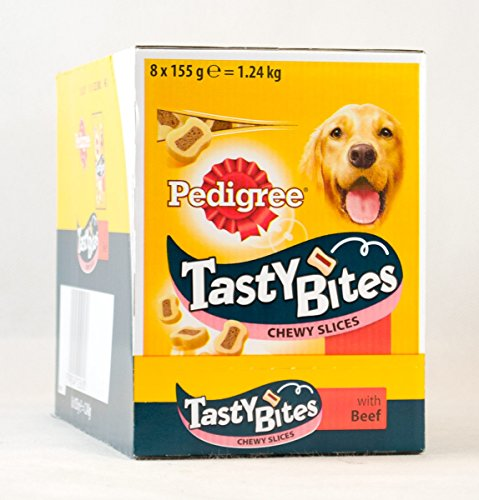 8-x-155g-pedigree-tasty-bites-chewy-slices-beef-dog-treats