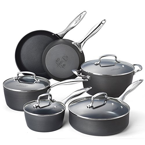 cooksmark-hard-anodized-nonstick-cookware-set-grey-black-10-piece