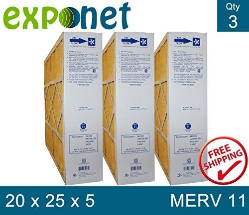 m8-1056-genuine-20x25x5-actual-size-20-1-4-x-25-3-8-x-5-1-4-merv-11-goodman-electro-air-five-seasons