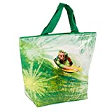 Large 18L Insulated Cooler Tote Picnic Lunch Freezer Bag (Green Water Surfing)