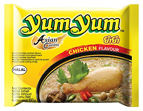 Yum Yum Instant Nudeln Huhn 60g, 45er Pack (45 x 60 g)