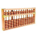 MagiDeal Arithmetisches Rechenmaschine - Holz Chinesisch Abakus Soroban mit Holzperlen für Kinder oder Schüler - 13 Reihen