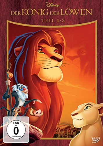 Der König der Löwen - Teil 1-3 [3 DVDs] (Walt Disney Box-set)
