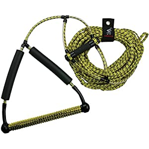 51lNqvq4agL. SS300  - Airhead AHWR-1 Wakeboard Rope with Phat Grip, Yellow