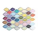 Non toxique Couleurs 40 Multifuntional bricolage encre Pad pad d'encre colorée Timbre-pad d'encre d'étanchéité Décoration Tapis en caoutchouc spécial Timbre